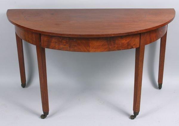 5020: Fine mahogany console table