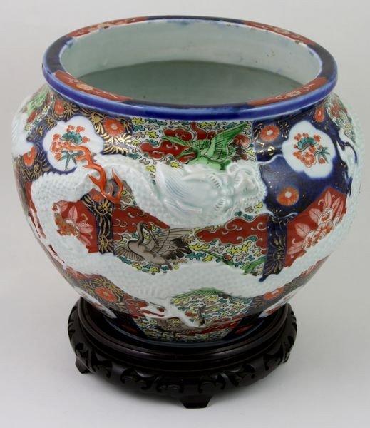 6015: Imari Porcelain Jar