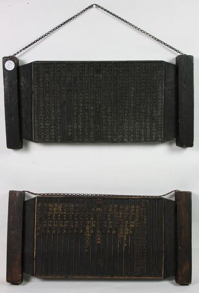 7004: Woodblock Print Plate