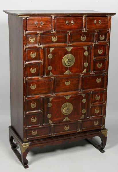 7009: Wood Cabinet