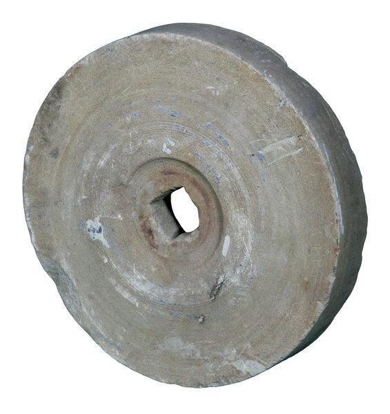 8002: Late 19th C. English Grinding Wheel