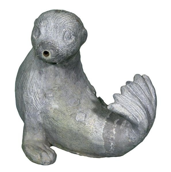 8011: English Lead Spotted Seal Fountain