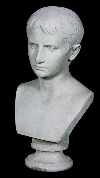 8022: English Bust of Augustus