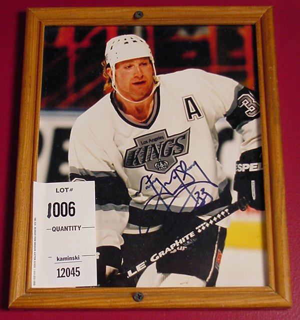 1006: MARTY MCSORLEY AUTOGRAPH