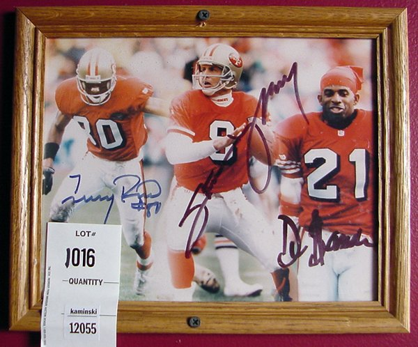 1016: RICE, YOUNG & SANDERS AUTOGRAPH