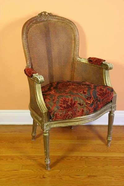 1002: Louis XI Style Armchair