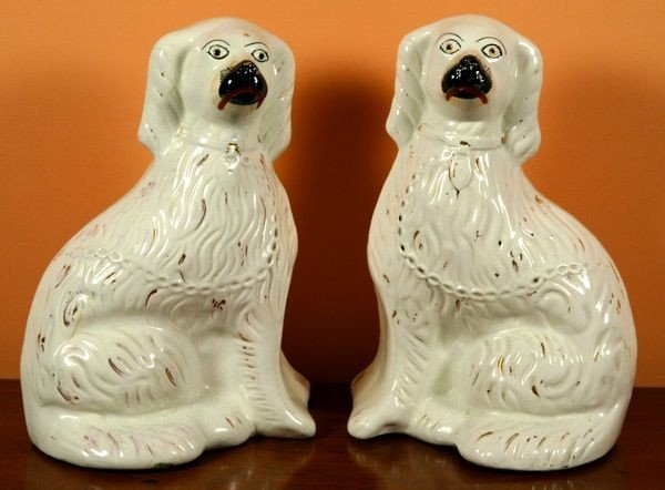 1005: Pair of Staffordshire Dogs