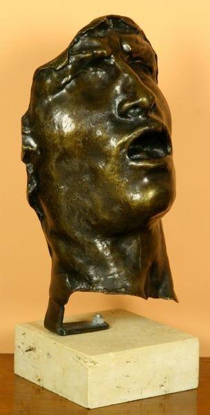 1070: Rodin, Mask, Bronze