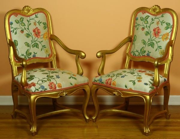 2001: Pair of 18th C. Italian Chairs