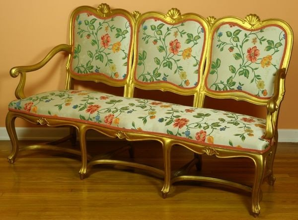 2002: 19th C. French Sofa