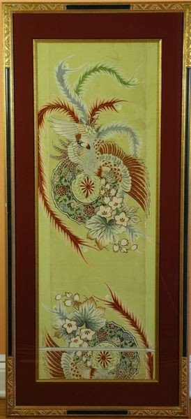 2012: Early 20th C. Silk Japanese Kimono Sleeves