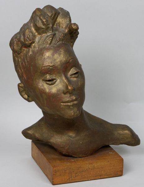 3012: Lux, Sculpture Bust