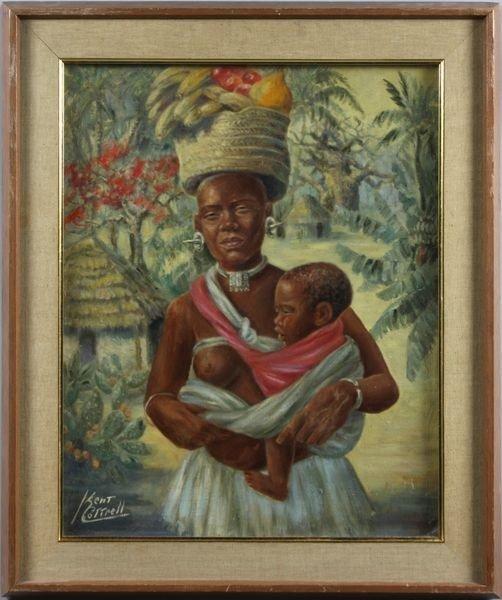 "3024: Cottrell, ""Giriama Mother, Kenya"", O/C"