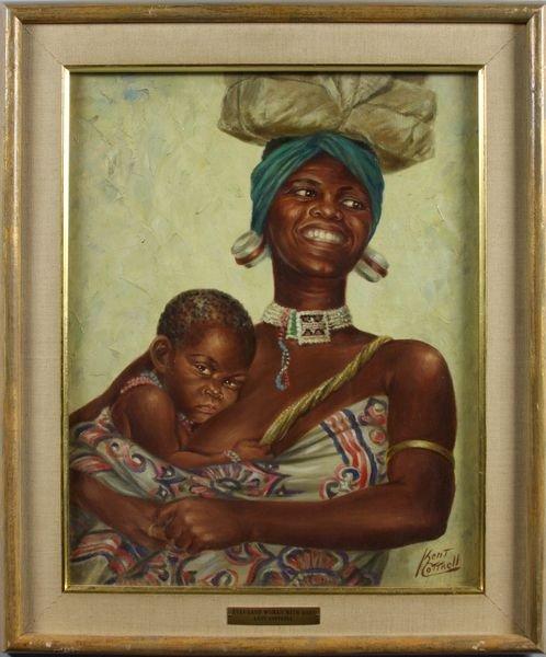 "3026: Cottrell, ""Zululand Woman"", O/C"