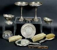 4465 Sterling Silver Dresser Set
