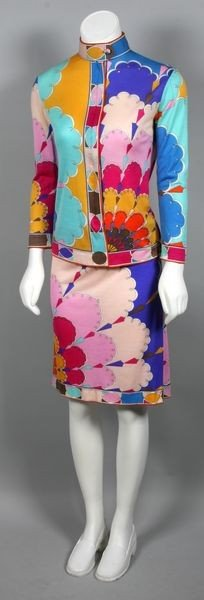 5102: Emilio Pucci Two Piece Outfit