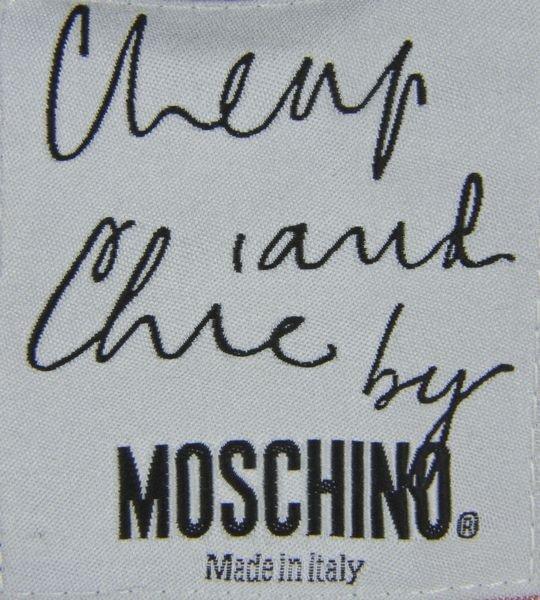 5229: Moschino Velvet Cat Blazer - 5