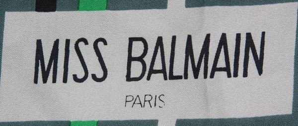 5043: Miss Balmain Scarf - 2