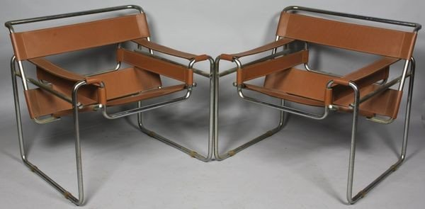 6015: Pair of Wassily Chairs