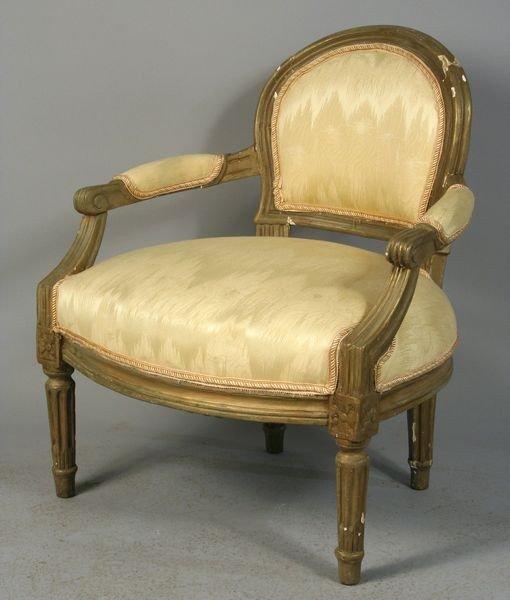 7022: Louis XVI Style Armchair