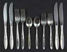 7077: Towle Sterling Flatware