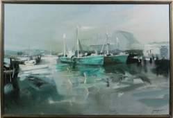 "7081: Gruppe, ""Wharf"", O/C"