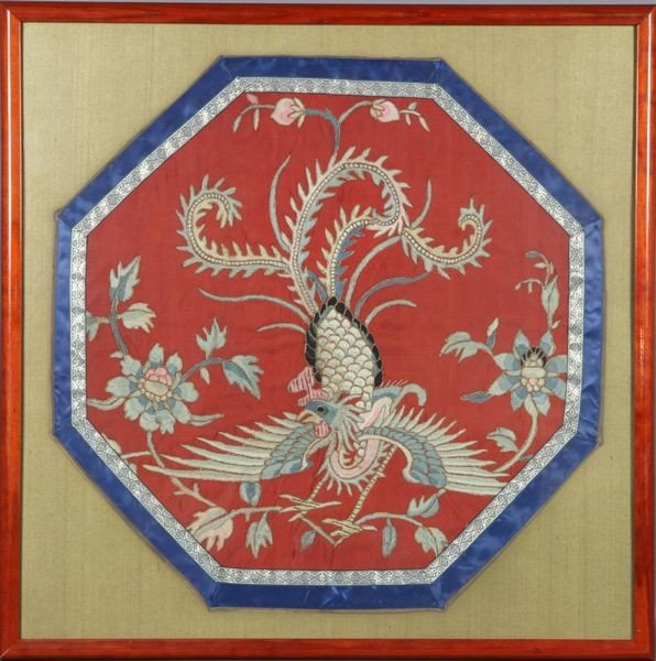1009: Chinese 19th C. Silk Tapestry