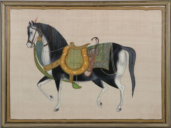 1016: Indian Painting on Silk