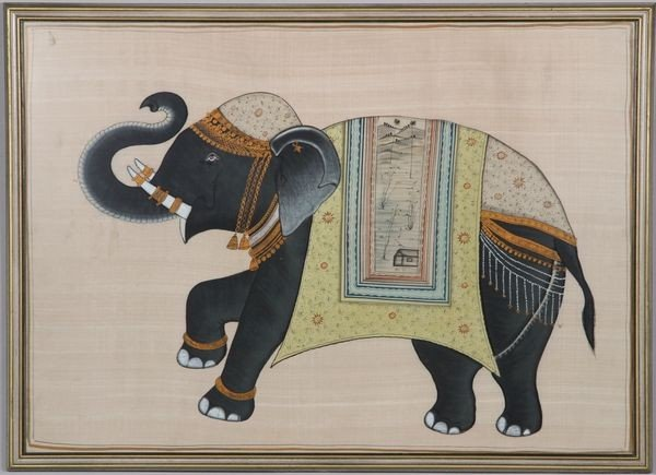 1017: Indian Painting on Silk