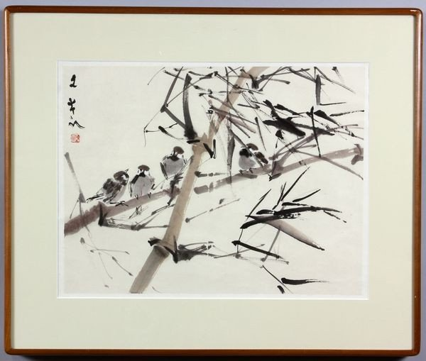 1020: Japanese 20th C. Watercolor