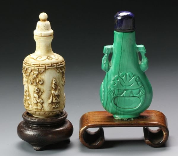 1267: Two Chinese 19th C. Snuff Bottles