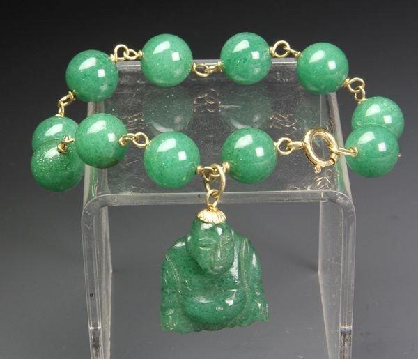 1280: Chinese Jade Bracelet