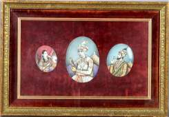 2016: Indian 19th C. Miniatures on Ivory