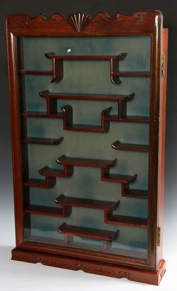 3004: Chinese Rosewood Display Cabinet