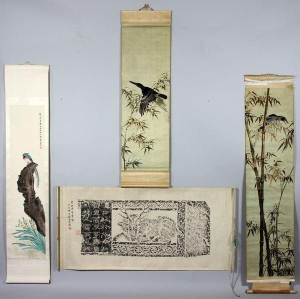3025: Four Asian Scrolls