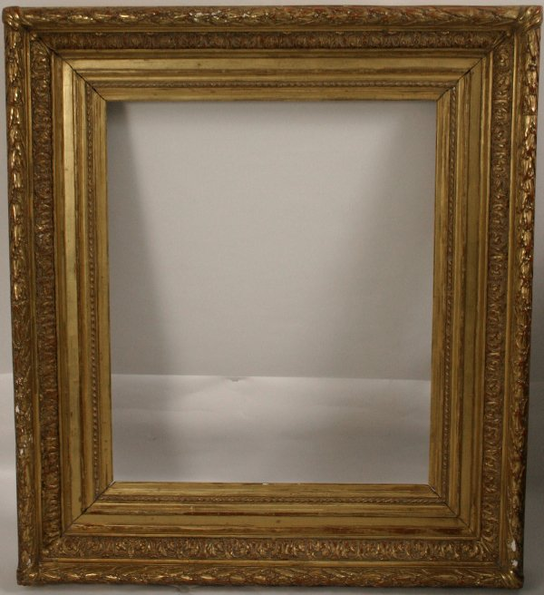 20: 19TH CENTURY VICTORIAN CARVED GILT FRAME