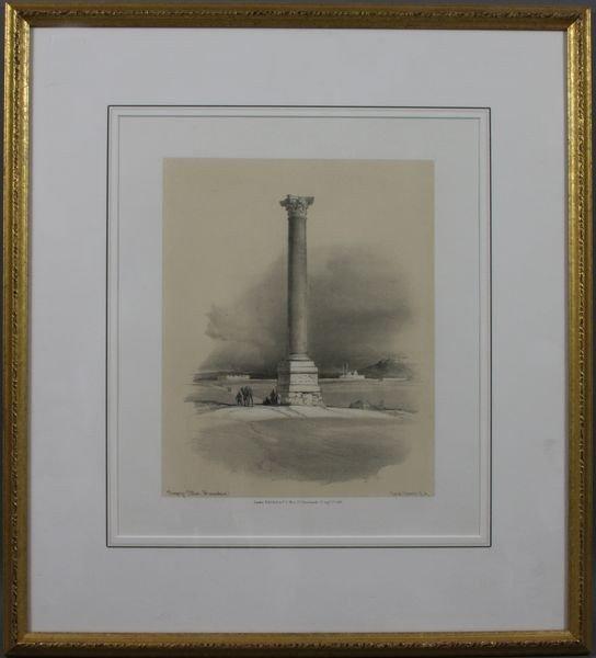 6001: Framed Print of Pompeys Pillar
