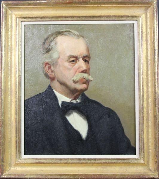 6005: Portrait of a man, o/c