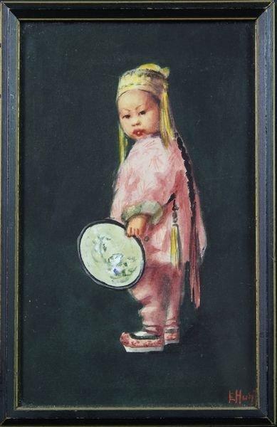 6011: Hunt, Oriental Girl, W/C