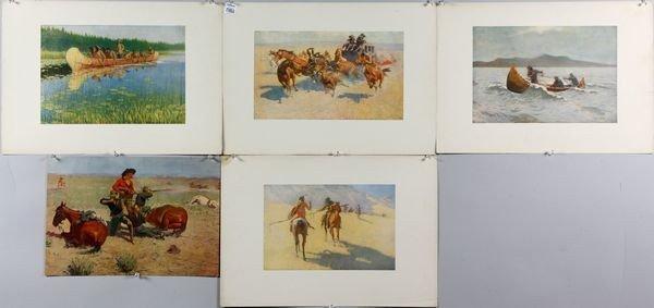 6022: Remington, 5 prints