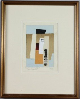 Schwitters, Collage