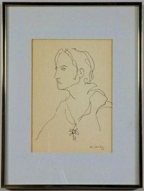 McCracken, Hamlet, Ink Drawing