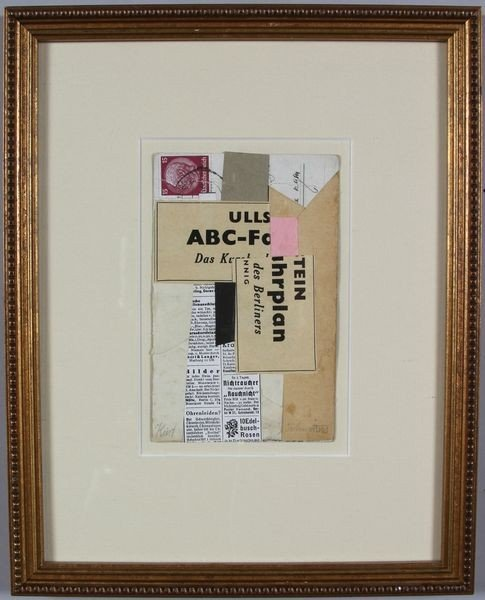 6082: Schwitters, Collage