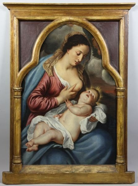 6115: Italian Old Master Painting
