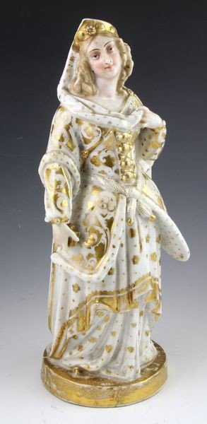 4003: 19th C. Paris Porcelain Figure