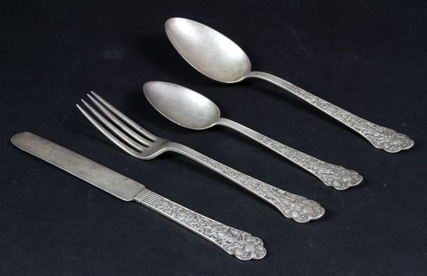4021: Gorham Sterling Flatware