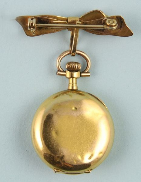 4208: 20th C. Ladies 18K Gold Watch