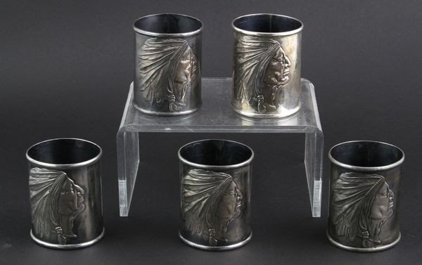 5001: Sterling Silver Napkin Rings
