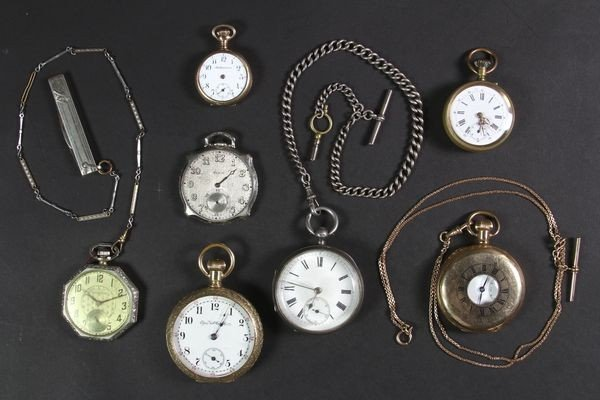 5003: Seven Pocket Watches
