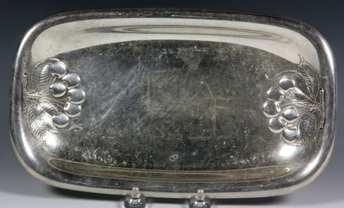 9021: Sterling Silver Tray